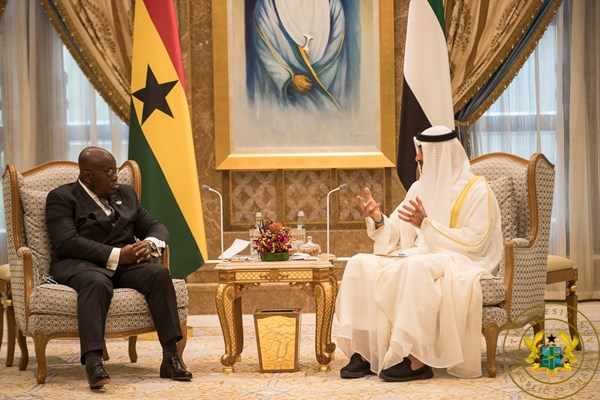 Akufo addo in UAE
