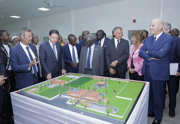 Eni and Governement Of Ghana Inaugurate Business And Agricultural Training Project