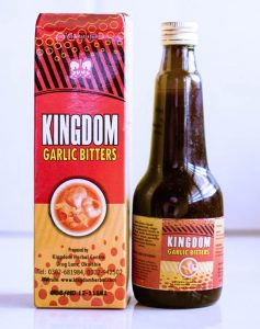 kingdom garlic bitters