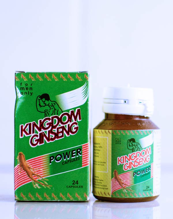 kingdom ginseng power capsules