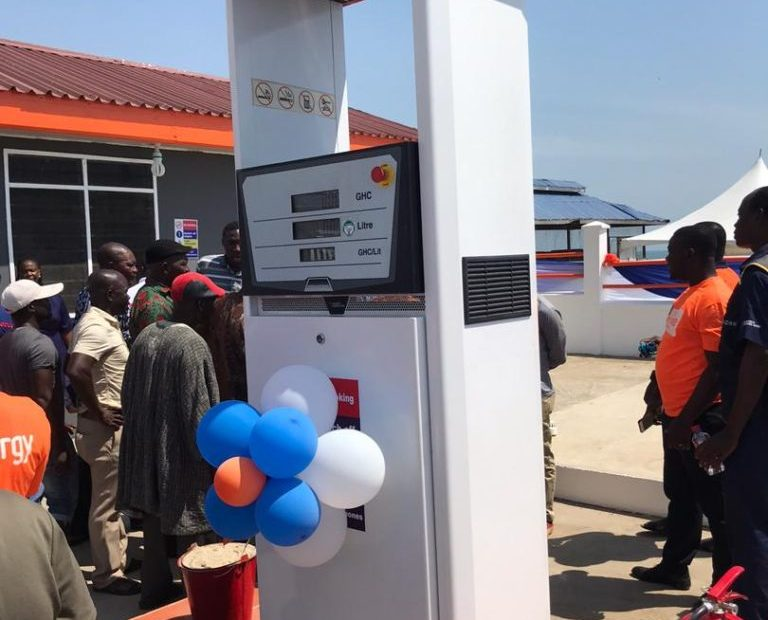 National Petroleum Authority Outdoors Premix Retail Outlet