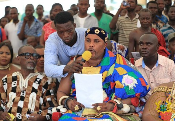 """""""Industrialisation A Reality Under Akufo-Addo; We Have Two 1d1fs"""" – Ngleshie Amanfro Chief"""