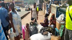 Image result for stranded resident in ghana pictures